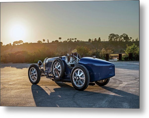 Pur Sang Bugatti Type 35 Metal Print by Drew Phillips
