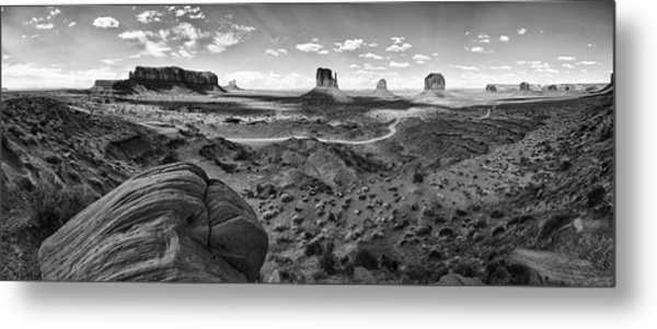 Pure Monument Valley Metal Print by Andreas Freund