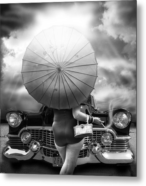 Queen Of The Highway  Metal Print by Larry Butterworth