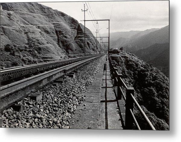 Railroad Metal Print by Amarildo Correa