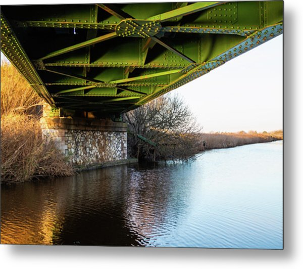 Railway Bridge Metal Print