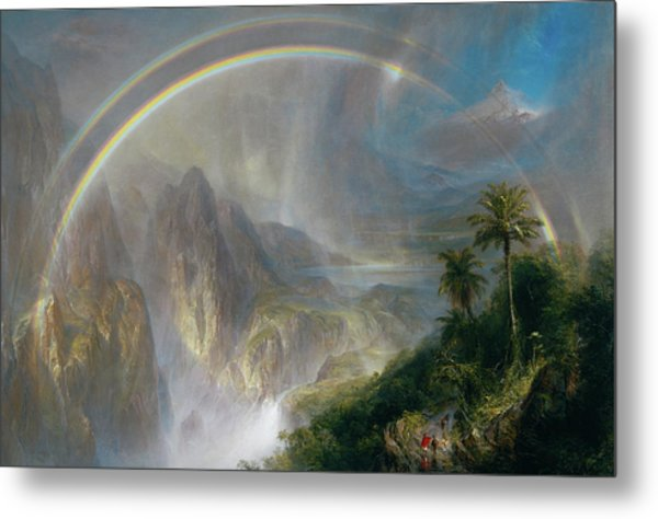 Rainy Season In The Tropics Metal Print