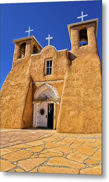 Ranchos De Taos Church  Metal Print