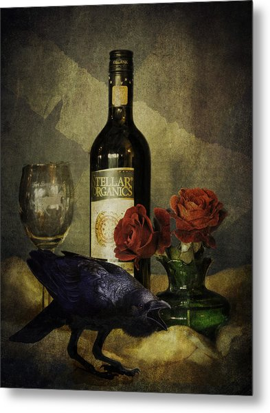 The Ravens Table Metal Print