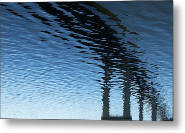 Reflections Number Seven Metal Print