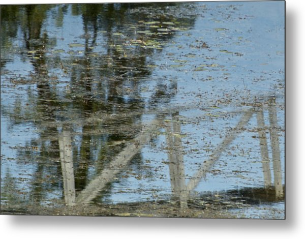 Reflections Number Six Metal Print