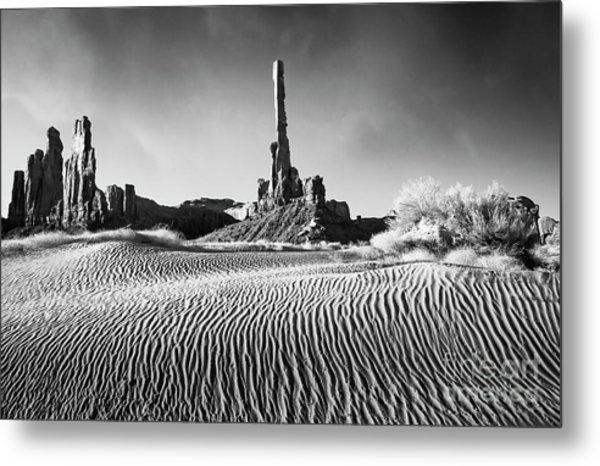 Rippled Dunes Metal Print