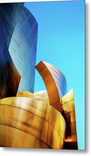 River Of Gold Metal Print