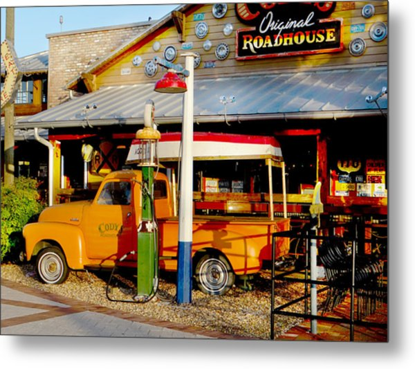 Roadhouse Metal Print