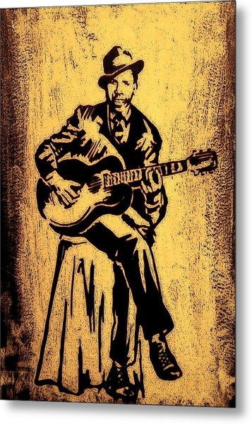 Robert Johnson Metal Print