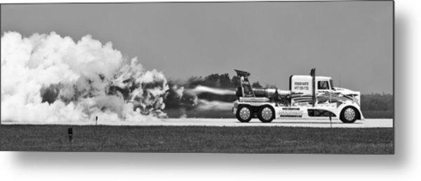 Rocket Truck Metal Print