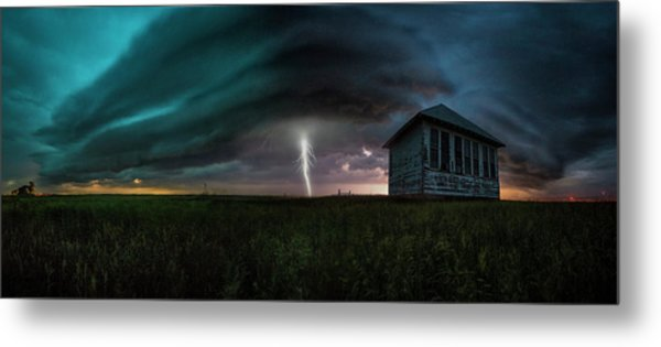 Metal Print featuring the photograph Rose Hill  by Aaron J Groen