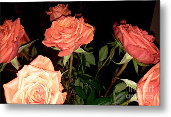 Roses For Holiday Metal Print