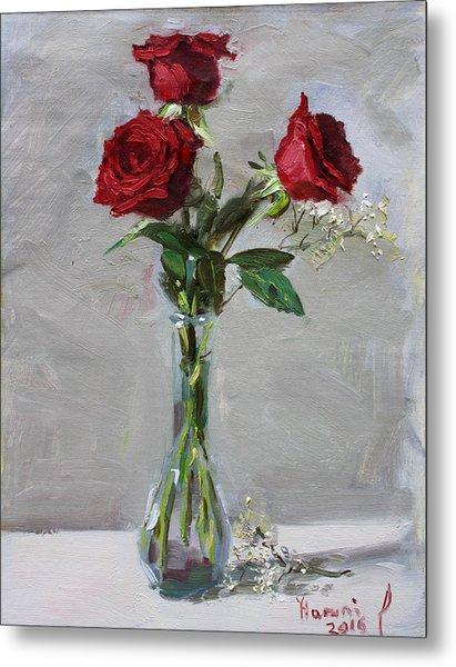 Roses For Viola Metal Print