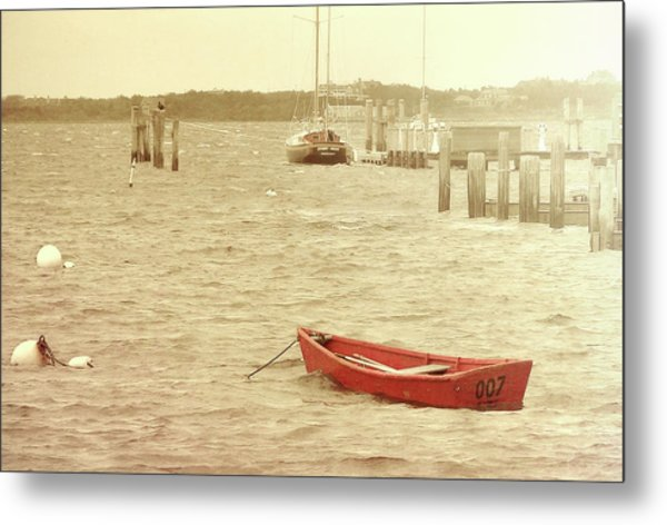 Rough Seas Metal Print by JAMART Photography