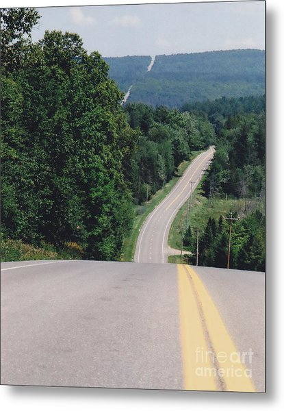 Route 6 Metal Print by Lewis Lowell