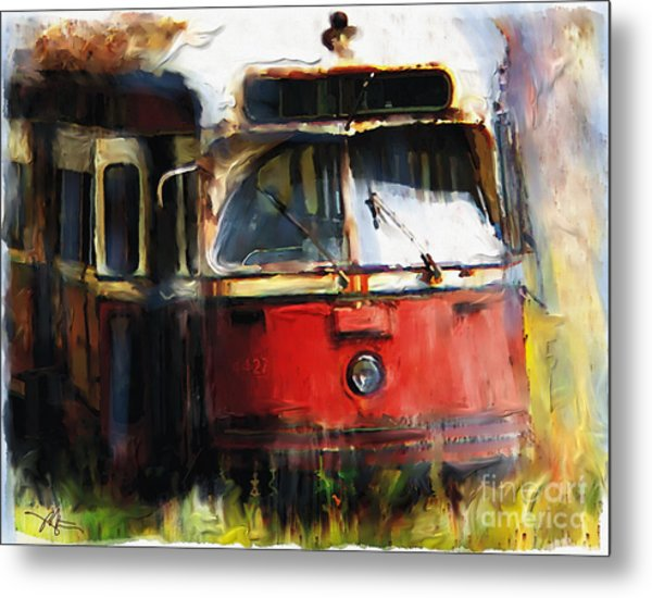 Rust In Peace Metal Print by Bob Salo