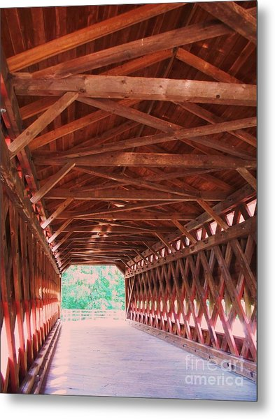Sachs Bridge Metal Print