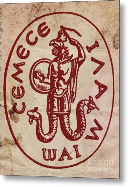 Sacred And Ancient Symbolism By Pb Metal Print