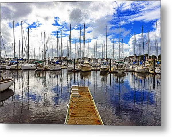 Safe Harbor Metal Print