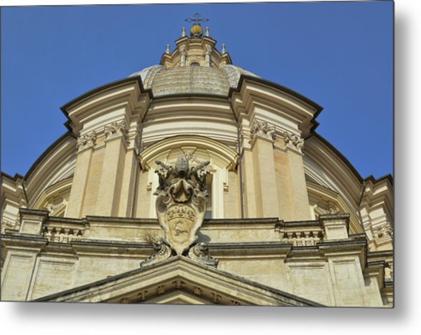 Saint Agnes Dome Metal Print by JAMART Photography
