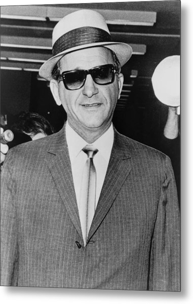 Sammy Giancana 1908-1975, American Metal Print by Everett