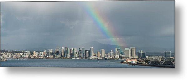 Metal Print featuring the photograph San Diego by Dan McGeorge