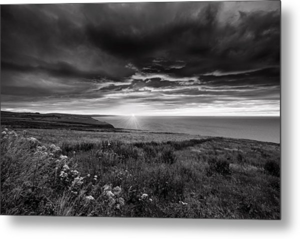 Scottish Sunrise Metal Print