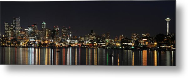 Seattle Skyline Metal Print by Michael Gass