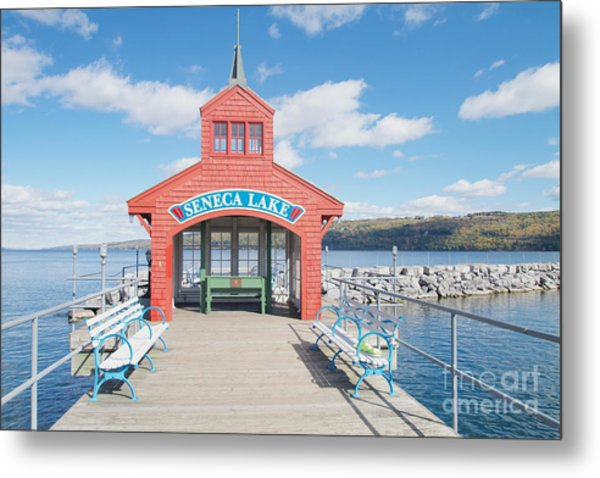 Seneca Lake Metal Print