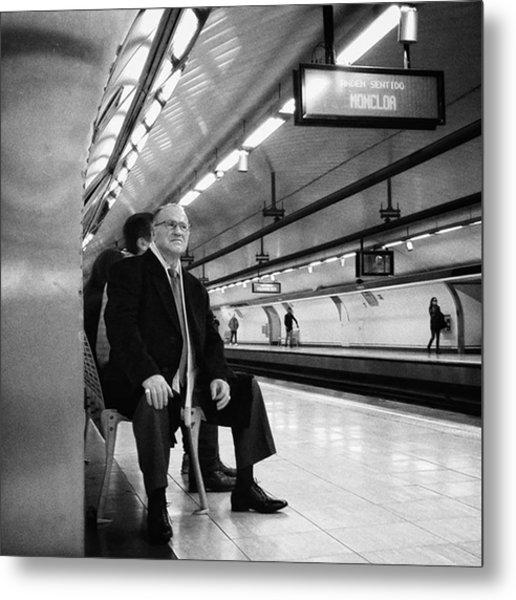 Señor #señor #man  #portrait Metal Print