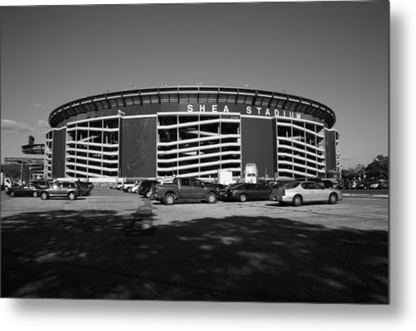 Shea Stadium - New York Mets Metal Print