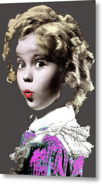 Shirley Temple Publicity Photo C.1934-2013 Metal Print