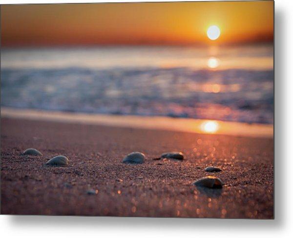 Shoreline Sunrise Metal Print