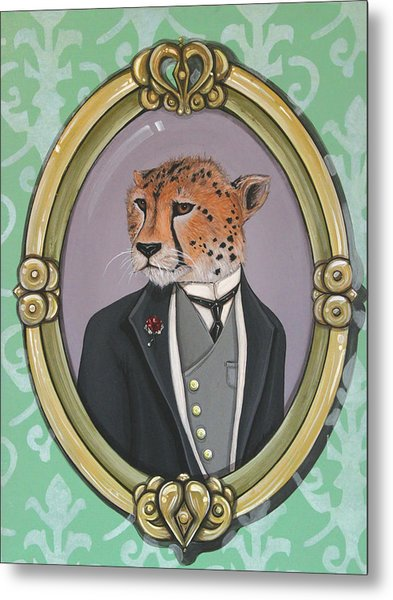 Sir Pettingwise IIi Metal Print