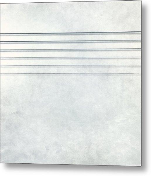 Six Strings Metal Print