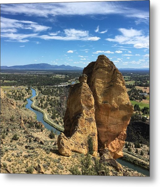 Smith Rocks Metal Print