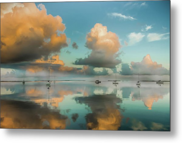 Sound Of Silence Metal Print
