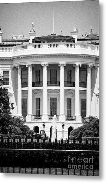 south facade of the white house Washington DC USA Metal Print