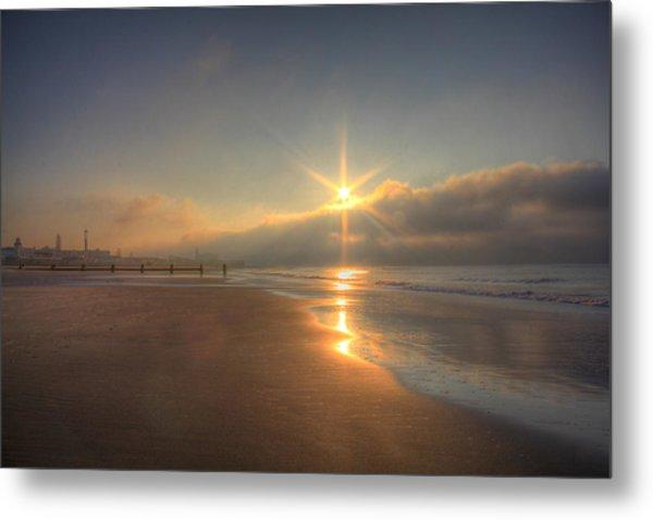 Sparkling Sunrise Metal Print