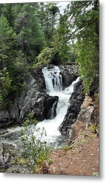 Split Rock Falls. Metal Print