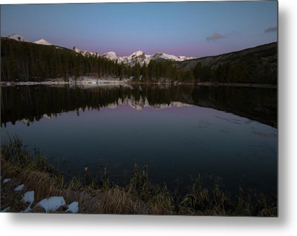 Sprague Lake Metal Print
