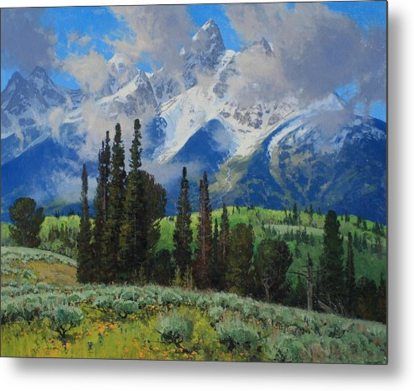 Spring Ascension Metal Print by Lanny Grant