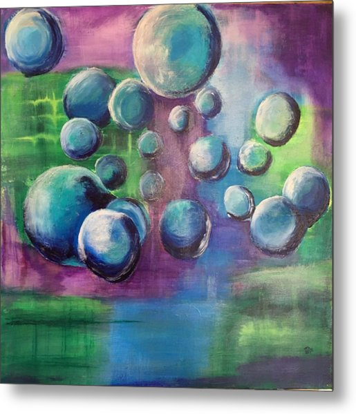 Metal Print featuring the painting Spring by Mary Rimmell