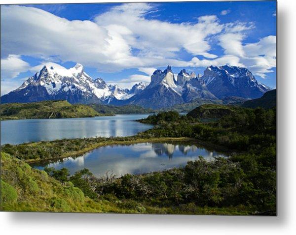 Springtime In Patagonia Metal Print