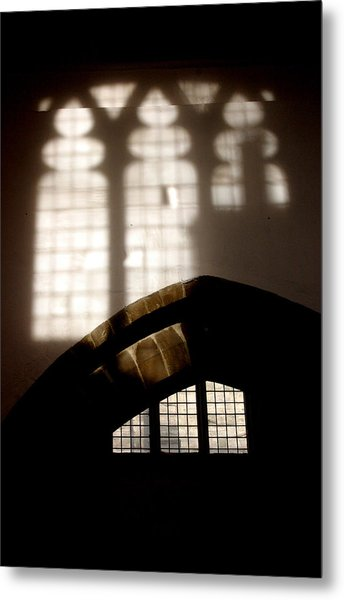 Stained Metal Print by Jez C Self