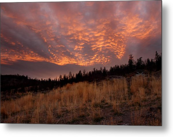 Steelhead Provincial Park Sunset Metal Print by Pierre Leclerc Photography