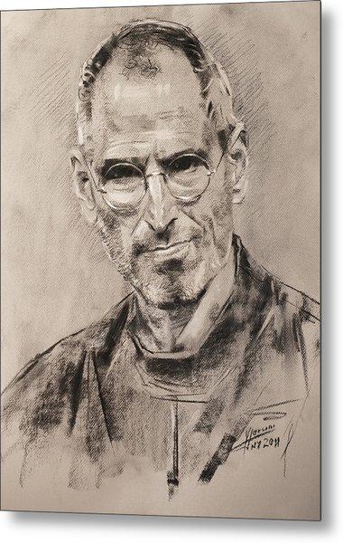 Steve Jobs Metal Print