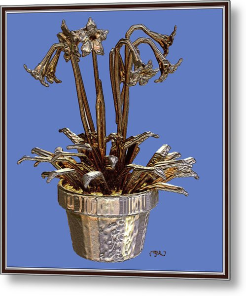 Still Life With Flowers 1 Metal Print