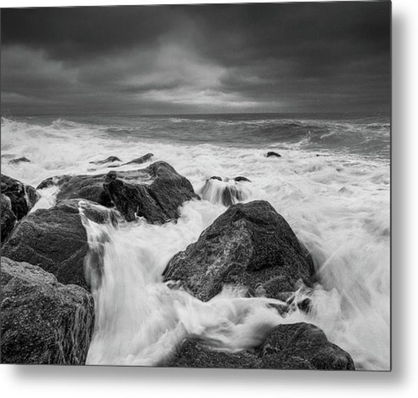 Metal Print featuring the photograph Stormy Morning by Will Gudgeon